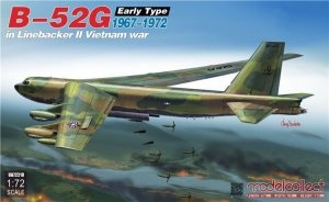 Modelcollect UA72210 B-52G Early Type 1967-1972 in Linebacker II Vietnam war 1/72