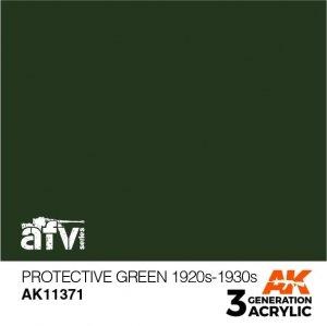 AK-Interactive AK 11371 Protective Green 1920s-1930s 17ml