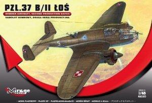 Mirage Hobby 481310 PZL.37B/II Łoś 1/48