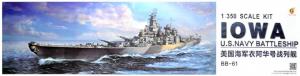 Very Fire VF350910 U.S. Navy Battleship BB-61 Iowa 1/350