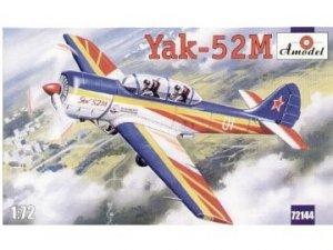 A-Model 72144 Yakovlev Yak-52 M Soviet double-seet sporting aircraft 1:72