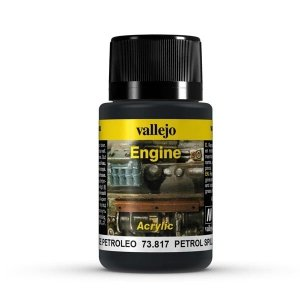 Vallejo 73817 Engine Effects - Petrol Spills 40 ml
