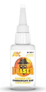 AK Interactive AK 12017 ERASER FOR CYANOACRYLATE