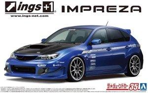 Aoshima 05875 Ings GRB Impreza WRX STI '07 1/24
