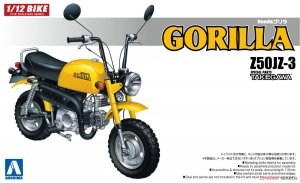 Aoshima 05871 Z50JZ-3 Honda Gorilla Special Parts Takegawa 1/12