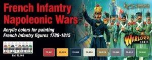 Vallejo 70164 French Infantry Napoleonic Wars 8 x 17ml