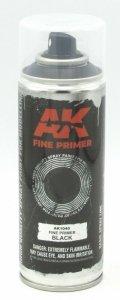 AK Interactive AK 1040 Fine Primer Black Spray 200 ml.