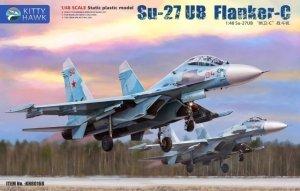 Kitty Hawk 80168 Su-27UB Flanker-C 1/48