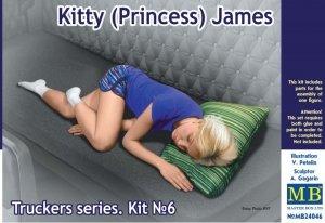 Master Box 24046 Kitty (Princess) James 1/24