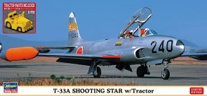 Hasegawa 02363 T-33A Shooting Star w/Tractor 1/72