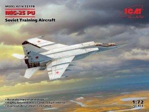 ICM 72178 MiG-25PU Soviet Training Aircraft 1/72