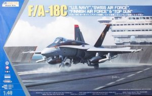 Kinetic K48031 F/A-18C Hornet US Navy/Top Gun 1/48
