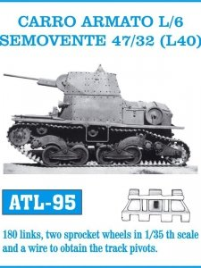 Friulmodel 1:35 ATL-95 CARRO ARMATO L/6 SEMOVENTE 47/32 (L40)