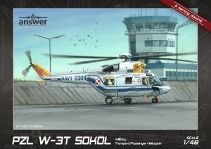 Answer AA48004 PZL W-3T Sokół Military Transport/Passenger Helicopter 1/48