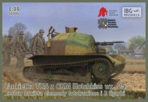 IBG 35045 Tankietka TKS z CMK Hotchkiss wz.25 (1:35)