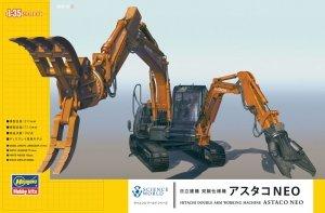 Hasegawa SW04 Hitachi Double Arm Working Machine Astaco Neo (1:35)