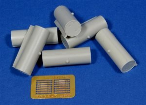 Panzer Art RE35-128 Cylindric fuel drums for WWII Soviet tanks 1/35