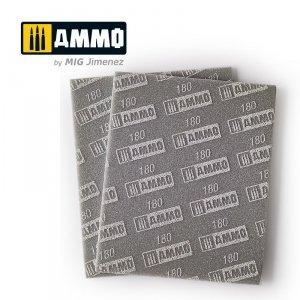 Ammo of Mig 8556 Sanding Sponge Sheet 180 gąbka ścierna