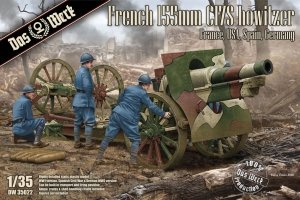 Das Werk DW35022 French 155mm C17S howitzer France, USA, Spain, Germany 1/35
