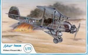 Azur FR019 Vickers Vincent Mk.I 1/72