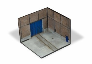 Vallejo SC116 Scenics Factory corner 15x15 cm 1/72