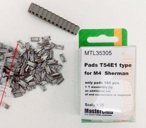 MasterClub MTL-35305 Pads T54E1 type for M4 Sherman 1:35