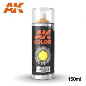 AK Interactive AK 1023 DUNKELGELB SPRAY 150ml