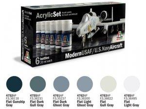 ITALERI 431AP - Modern USAF/U.S. Navy Aircraft - Acrylic Set