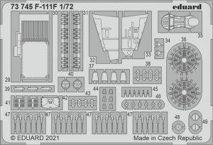 Eduard 73745 F-111F HASEGAWA / HOBBY 2000 1/72