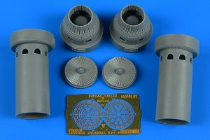 Aires 7372 F-14A Tomcat exhaust nozzles - closed position 1/72 ACADEMY