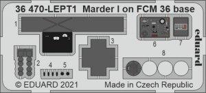 Eduard 36470 Marder I on FCM 36 base ICM 1/35