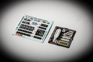 Eduard 3DL48024 B-17F/G radio compartment SPACE HK Models 1/48