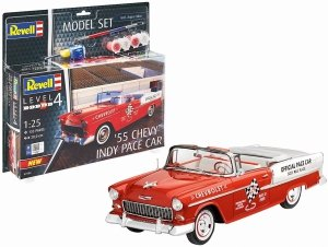 Revell 67686 55 Chevy Indy Pace Car 1/25