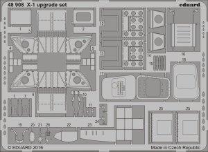 Eduard 48908 X-1 upgrade set 1/48 EDUARD