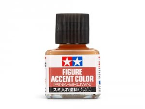 Tamiya 87201 Figure Accent Color (Pink-Brown) 40 ml.