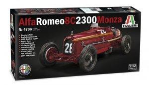 Italeri 4706 ALFA ROMEO 8C 2300 Monza 1/12