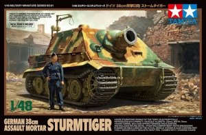 Tamiya 32591 German 38cm Assault Mortal Sturmtiger 1/48