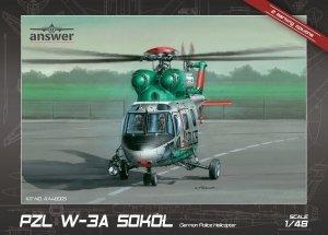 Answer AA48005 PZL W-3A Sokół German Police Helicopter 1/48