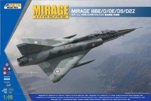 Kinetic K48054 Mirage IIIBE/D/DE/DS/D2Z (1:48)