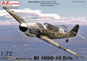 AZmodel AZ7611 Bf-109G-10 Erla Block 15XX late 1/72