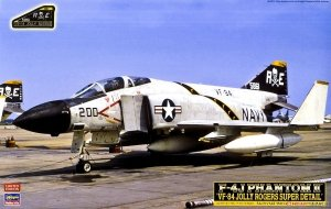 Hasegawa CH44 F-4J Phantom II VF-84 Jolly Rogers Super Detail 1/48