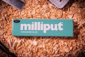 Milliput ML006 Epoxy Putty Turquoise Blue (113.4g)