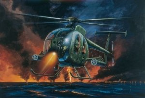 Italeri 0017 Hughes AH-6A Night Fox (1:72)