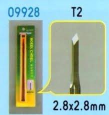 Trumpeter 09928 Chisel T2 dłuto 2.8x2.8mm