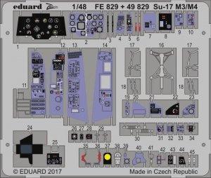 Eduard 49829 Su-17 M3/ M4 interior KITTY HAWK 1/48