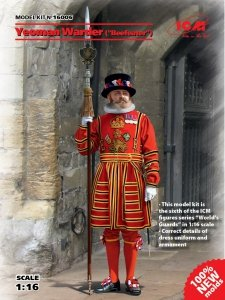ICM 16006 Yeoman Warder Beefeater (1:16)