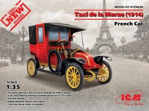 ICM 35659 Taxi de la Marne (1914), French Car (1:35)