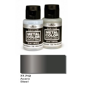 Vallejo 77712 Metal Color- Steel 32ml