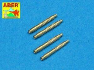 Aber A48 011 Set of 4 barrel tips for German 13 mm MG 131 aircraft machine gun (1:48