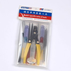 U-Star UA-90075 Modeling Tool Set 11in1 (zestaw narzędzi)
